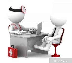 Konsultace s lékařem