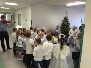 Vystoupení dětí ZŠ Kosmonautů 15 v Ostravě-Zábřehu